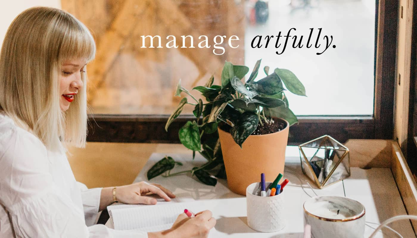 manage artfully - Katy Planning Her Day