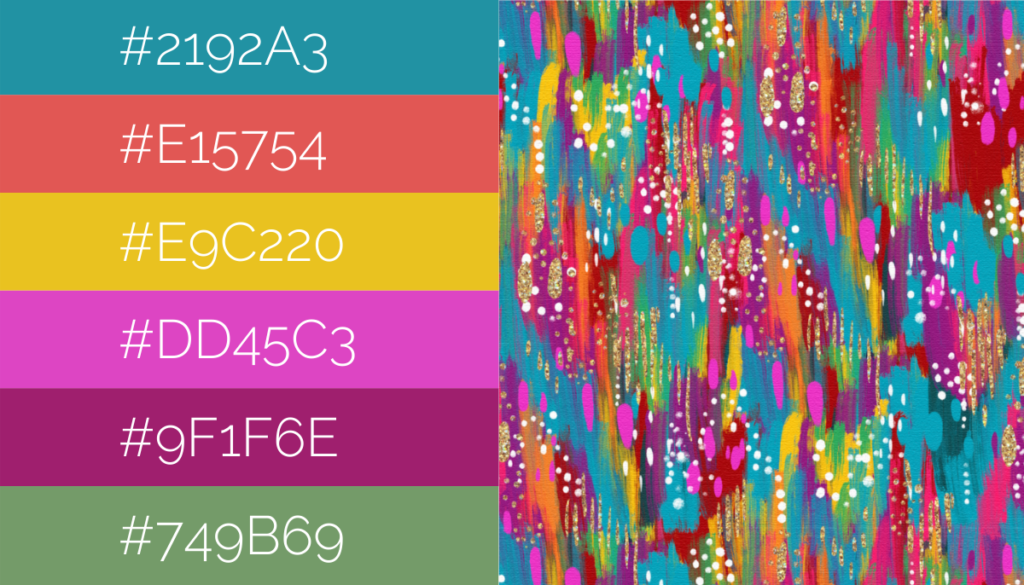fabulous fiesta hex codes