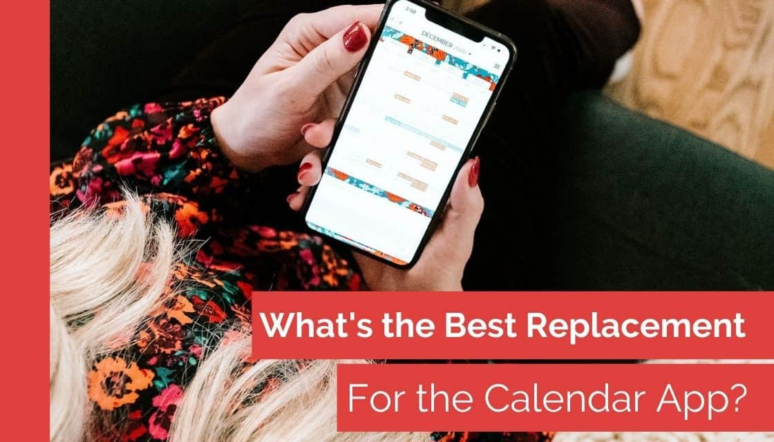 The best replacement for the calendar app